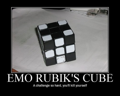 emo rubix cube