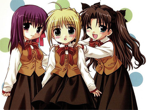 Anime Characters Images : Anime characters images fate stay night chibi wallpaper
