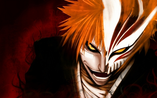 Bleach Anime wallpaper titled hollow ichigo