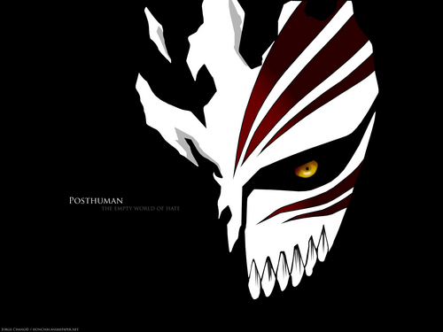 anime ya Bleach karatasi la kupamba ukuta entitled hollow mask