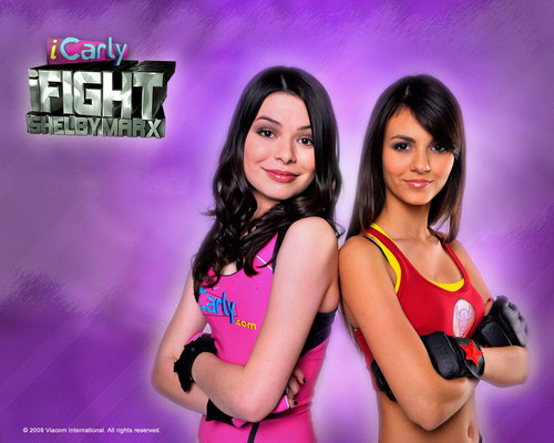 iCarly wallpaper possibly containing attractiveness and a portrait entitled i carly wallpaper 13