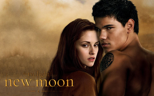 Jacob and Bella wallpaper containing a portrait called jacob and bella*
