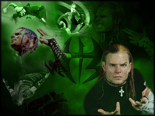 Jeff Hardy wallpaper possibly containing anime called jeff hardy