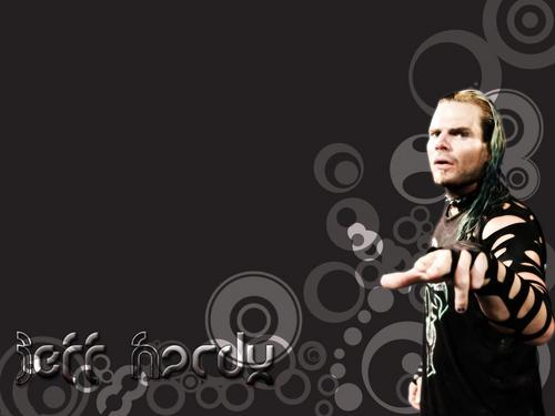 Jeff Hardy wallpaper probably containing a sign and a portrait entitled jeff hardy
