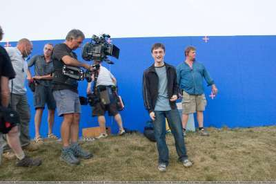 on HP set - daniel-radcliffe Photo