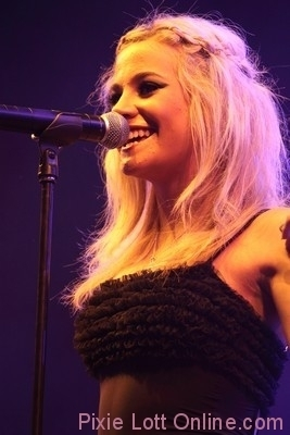 pixie on the stage