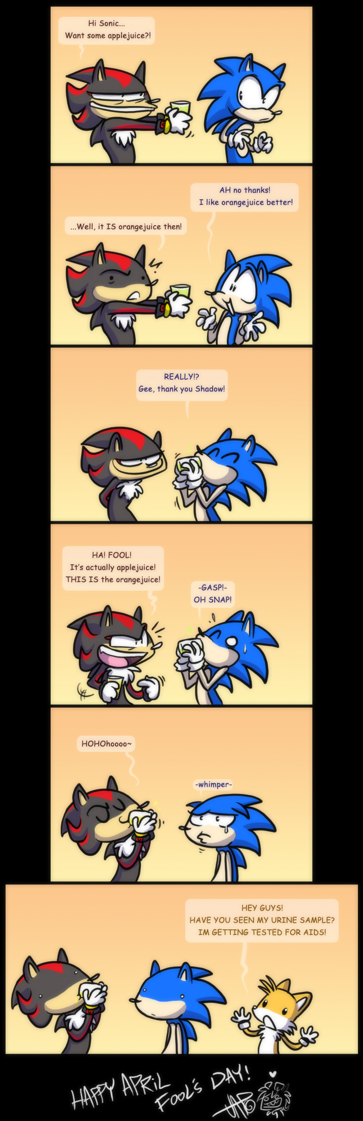 Sonic Drinking Funny The Hedgehog