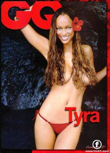 tyra banks wallpaper with a bikini called tyra covers