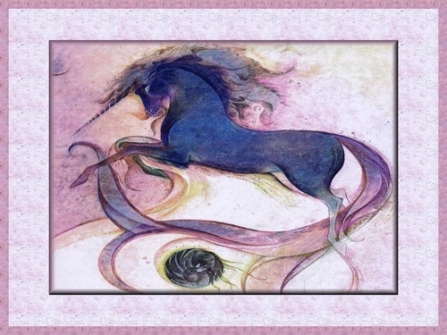 Mystic Unicorn,Wallpaper