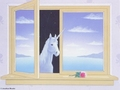 Through The Window - unicorns wallpaper