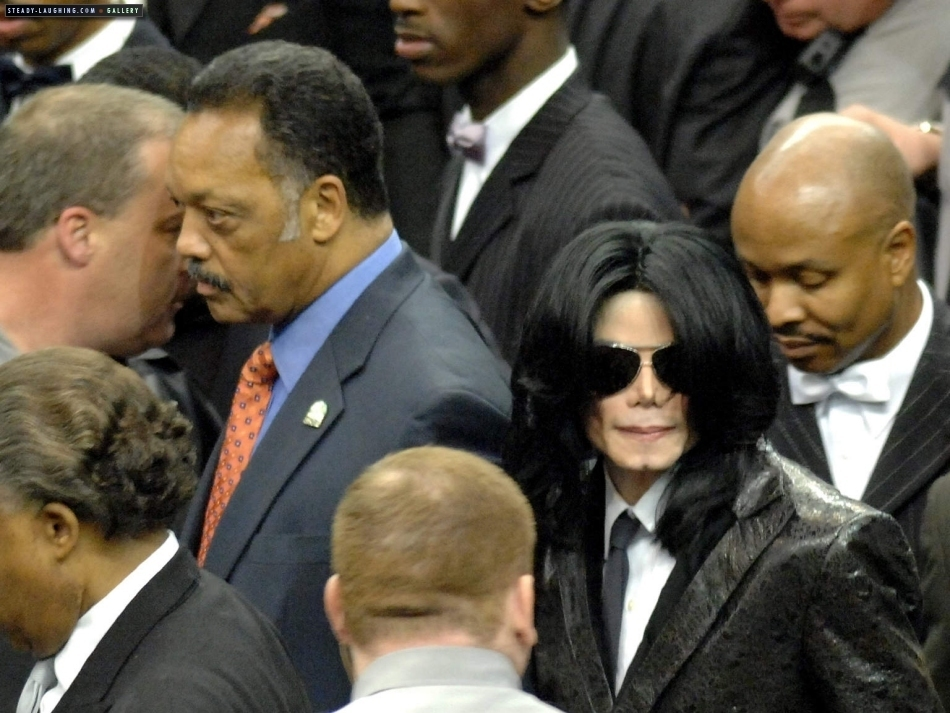 2006 / Funeral of James Brown - Michael Jackson Photo (7410476 ...