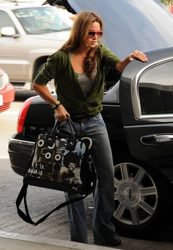Arriving at LAX airport in Vancouver