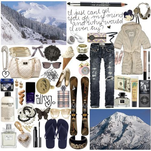 polyvore clippingg♥ wallpaper containing a ski resort titled **MOLLY**'s DONT STEAL!!!!