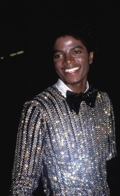 1978: Michael at a GRAMMY Awards reception at Chasens restaurant in Los Angeles.