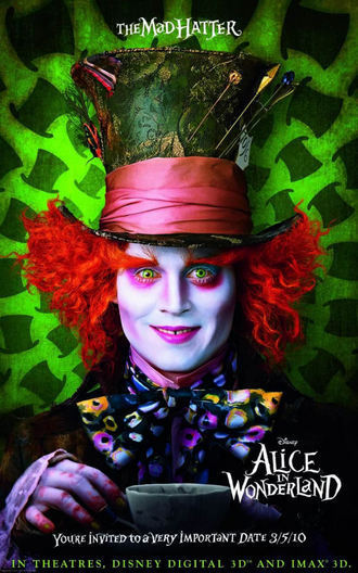ALice in wonderland posters
