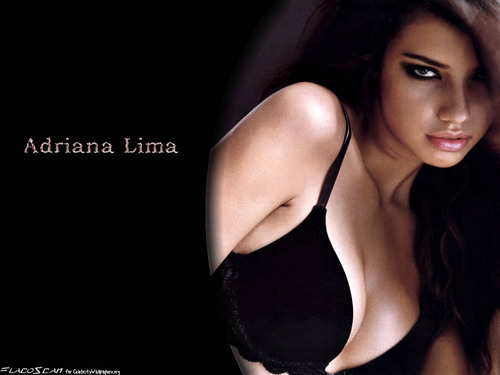 Adriana Lima wallpaper possibly containing attractiveness called Adriana Lima