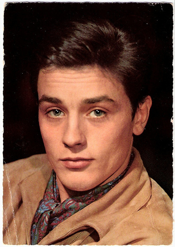 Alain Delon wallpaper possibly with a portrait entitled Alain