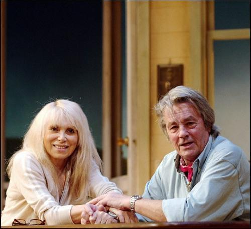 Alain and Mireille Darc in the Bridges of Madison County