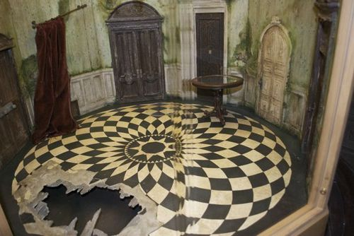 ऐलिस इन वण्डरलैण्ड वॉलपेपर containing a living room, a den, and a drawing room entitled Alice in wonderland behind the scenes चित्रो