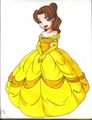 anime Style Belle