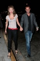 AnnaLynne McCord and her boyfriend go to Nobu restaurant