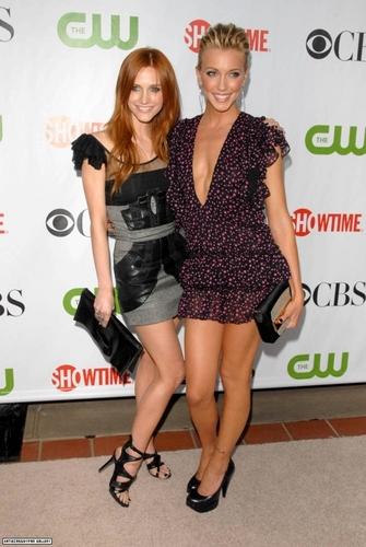 Ashlee & Katie @2009 TCA CW Summer Press Tour
