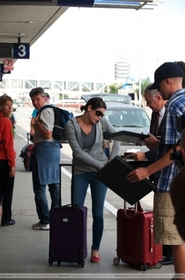 Ashley Greene Heads out to Vancouver - August 3