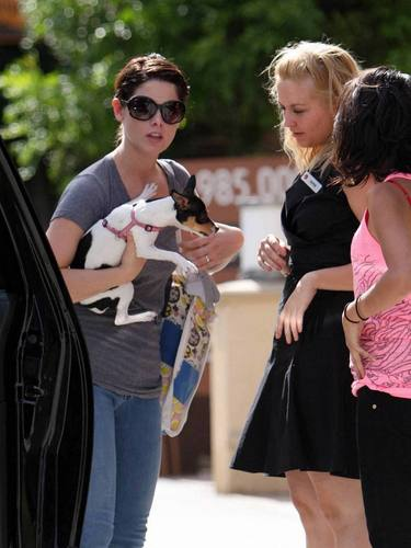 Ashley with friend