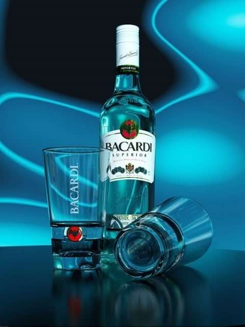 5b873dc9919 Drinking to become Genius achtergrond titled Bacardi The Original
