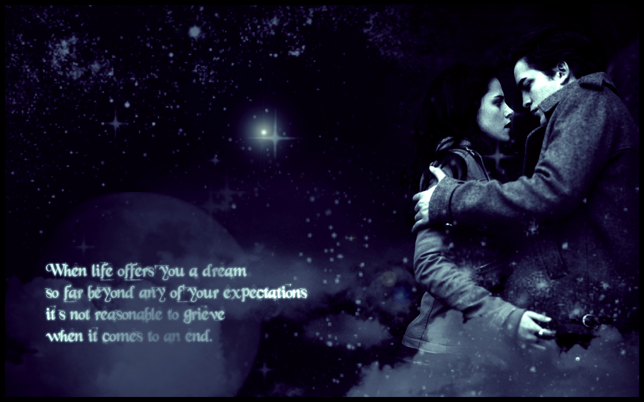 Bella and Edward wallpapers