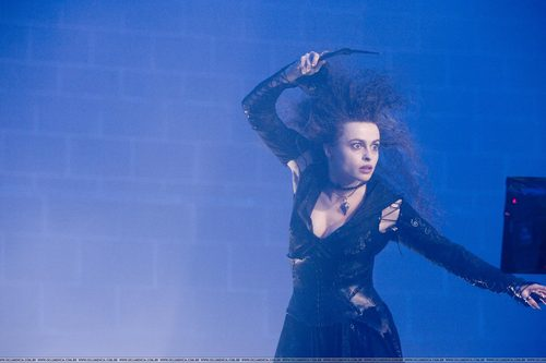 Bellatrix Lestrange wallpaper possibly containing a leotard and tights entitled Bellatrix Lestrange