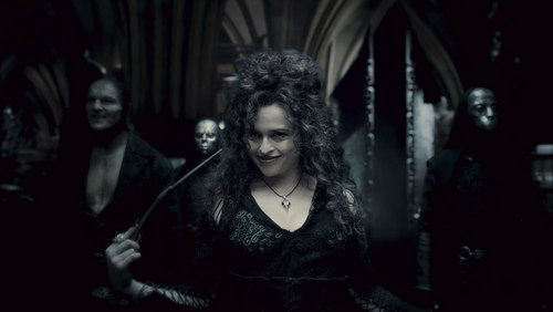 Bellatrix Lestrange Hintergrund entitled Bellatrix in Half blood prince