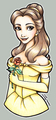 Belle Holding the Rose