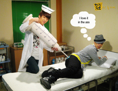 Big Bang PLaying Nurse