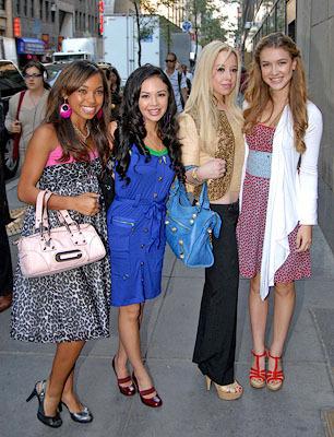 Bratz stars Logan,Janel,Skyler and Nathalia in New York July 24th 2007