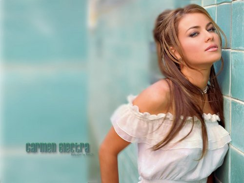 carmen electra wallpaper containing a portrait titled Carmen Electra