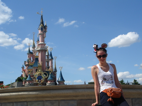 Celine in Disneyland Paris