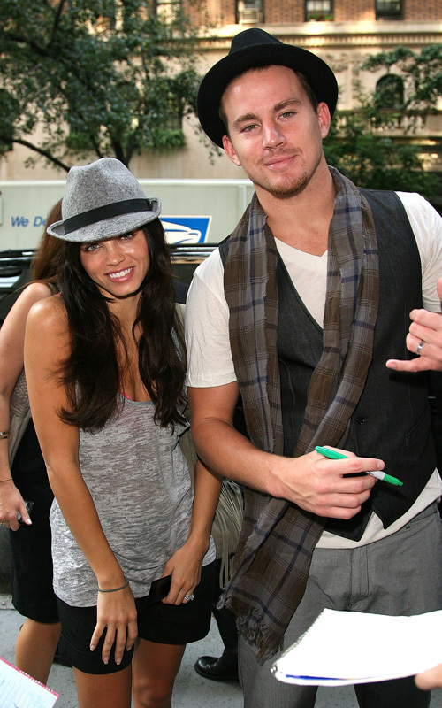 jenna dewan and channing tatum. Channing Tatum and Jenna Dewan