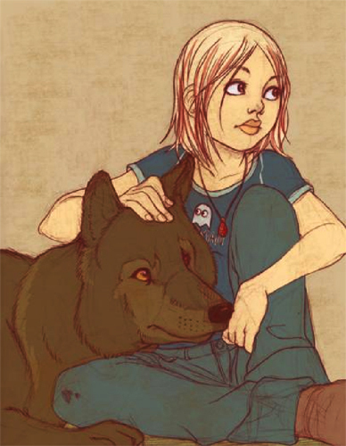Chloe and Derek - darkest-powers Fan Art