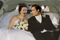 Chuck & Blair wedding limo <3