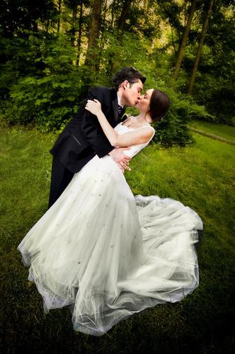 Chuck & Blair wedding pics