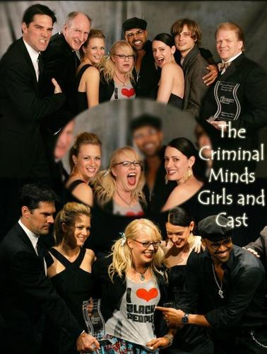 Criminal Minds Girls and Cast