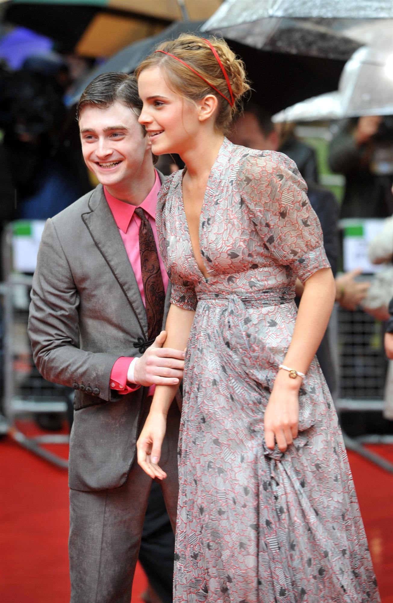 Emma Watson And Daniel Radcliffe Holding Hands Watson Dan and Emma