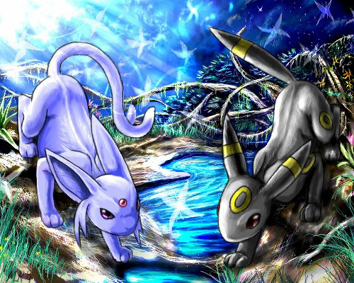 Eevee Evolutions Clan fondo de pantalla possibly containing anime titled Eevee Evolutions