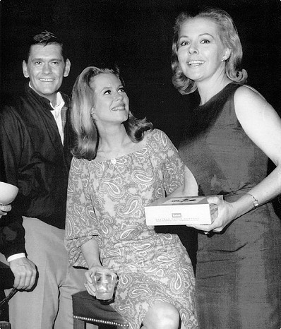 Elizabeth With Bewitched Co-Stars