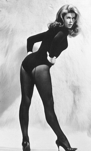 Elizabeth Montgomery wallpaper with a leotard, tights, and a swimsuit titled Elizabeth
