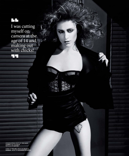 Evan Rachel Wood in BlackBook Magazine: August 2009