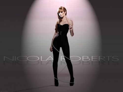Nicola Roberts wallpaper probably with a well dressed person, a leotard, and tights called FDGHF
