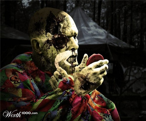 Fester the Zombie Clown