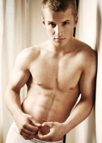 Freddie Stroma wallpaper with a hunk, a six pack, and skin entitled Freddie